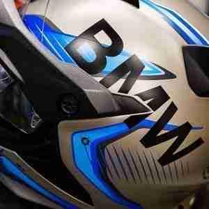 BMW GS Carbon Helmet