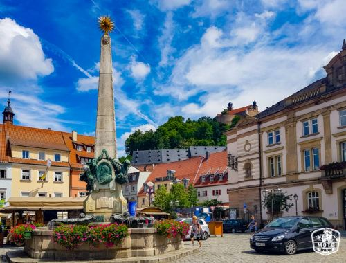 Picture from Kulmbach in Bavaria Germany.