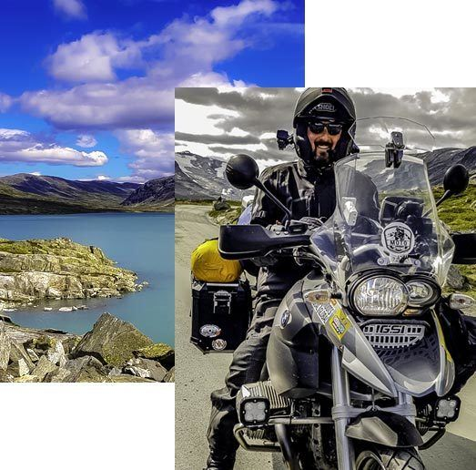 Stephan Mayer Motorbike Explorer
